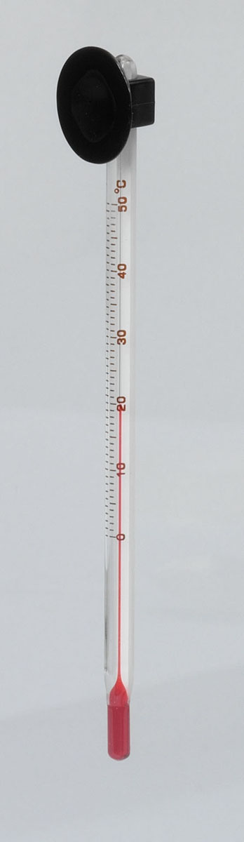 Thermometer Glas extra dun