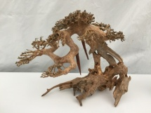 SF Bonsai Wood L met gratis 3 cupjes Flame mos 50cc en SF Aquascaping Glue tube 4g.